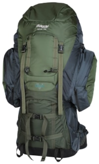 Bergans Alpinist Large 130L, Green/Dark Green