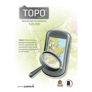 Garmin Micro SD med TOPO kart 1:20 000 Tromsø