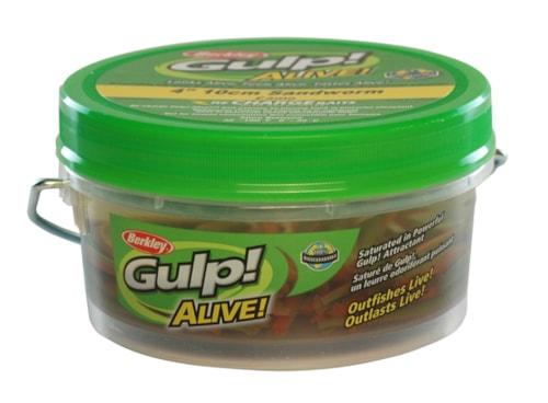 Berkley Gulp! Alive! HLFP Børstemark 6 - Brown BF