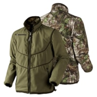 Seeland Trent Reversible Fleece Jakke - Realtree Xtra Green/Duffel Green