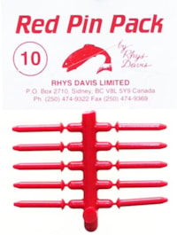 Rhys Davis - Red Pin Packs