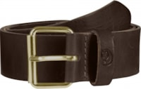 Fjällräven Sarek Belt 4 cm. - Leather Brown