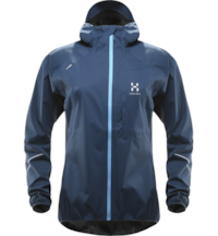 Haglöfs L.I.M Proof Jacket Women - Blue Ink