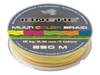 Kinetic Fishing Multi Color Braid