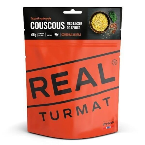 Real Turmat Couscous Linser Spinat