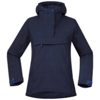 Bergans Cecilie Microlight Anorak - Navy/Ink Blue
