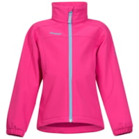 Bergans Reine Kids Jacket - Hot Pink/Deep Turquoise