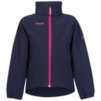Bergans Reine Kids Jacket - Navy/Hot Pink