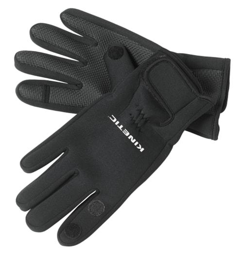 Kinetic Neoprene Glove Full Finger Black - L