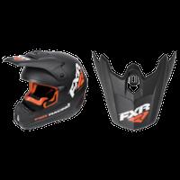 FXR Torque Recoil Helmet Visors - Black/Orange