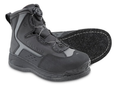 Simms RiverTek 2 BOA Boot - Felt - 39 (07)