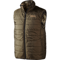Härkila Arvik Reversible Vest - Optifade/Hunting Green