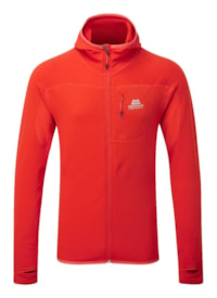 Mountain Equipment Eclipse Hooded Jacket - Cardinal Orange