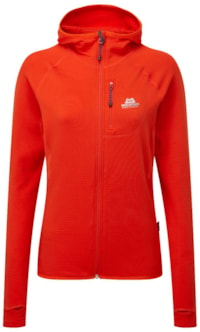 Mountain Equipment Wmns Hooded Jacket - Cardinal Orange