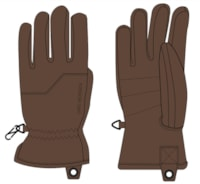 Lars Monsen Alta Leather Gloves