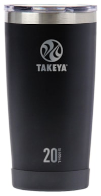Takeya Actives Insulated Tumbler - Onyx 600 ml