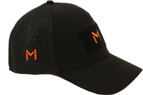 Lars Monsen Alta Mesh Caps - Black - M/L