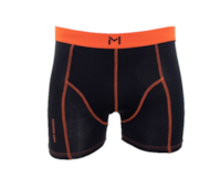 Lars Monsen Alta Bamboo Boxer Men - Black/Orange