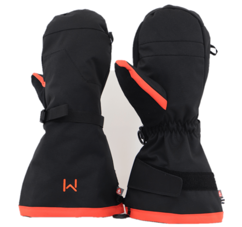 Lars Monsen Alta Outer Mittens - Black - XL/XXL
