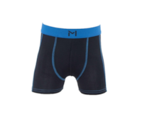 Lars Monsen Alta Bamboo Boxer Kids - Black/Blue