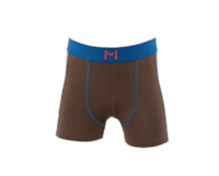 Lars Monsen Alta Bamboo Boxer Kids - Brown/Blue