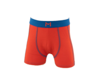 Lars Monsen Alta Bamboo Boxer Kids - Orange/Blue