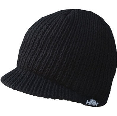 HMK Knit Alpine Beanie Lue - Sort