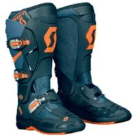 Scott 550 MX Støvler - Grå/Oransj