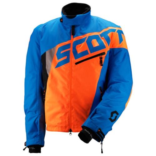 Scott Comp Pro Jakke - Blå/Oransje - XXL