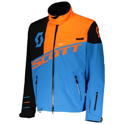 Scott Shell Pro Jakke - Blå/Oransj - S