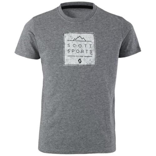 Scott 10 Casual JR T-shirt - Grå - 128