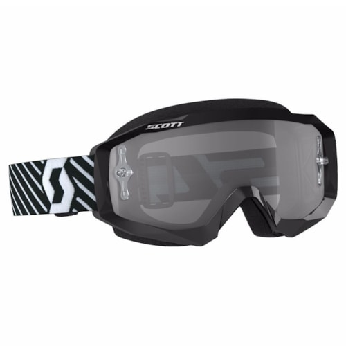 Scott Hustle MX S/D Brille - Sort/Hvit