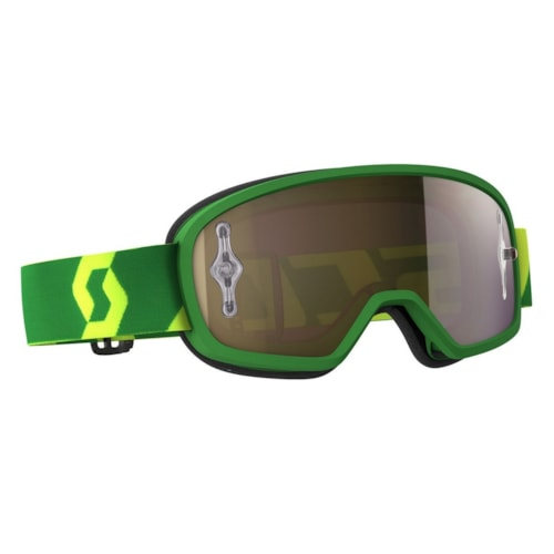 Scott Buzz MX Pro Brille - Grønn/Gul