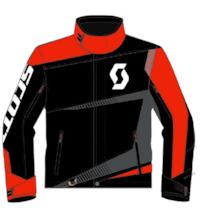 Scott  Jakke TeamR bl/tanger or L
