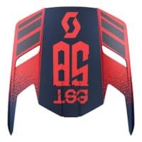 Scott 350 Skygge - Retro Blå/Rød