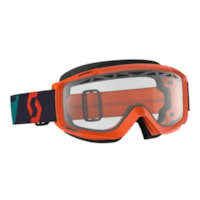 Scott Split OTG Enduro Brille - Ora/Blå