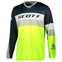 Scott 350 Track Trøye - Blå/Gul