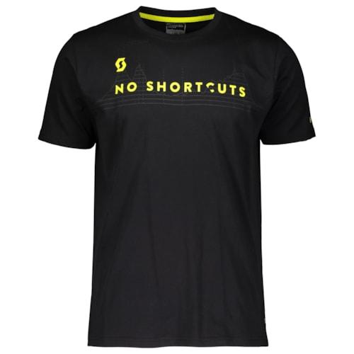 Scott T-Shirt 10 No Shortcuts - Sort - S