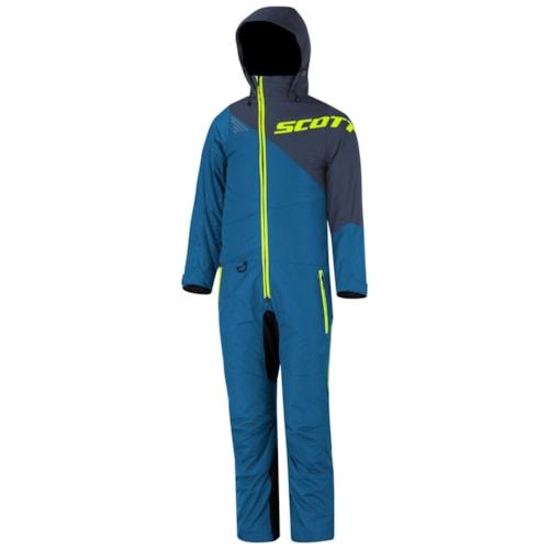 Scott Monosuit Dryo K's - Blå/Blå - 110cm