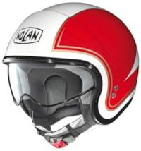 Nolan N21 Tricolore - Hvit