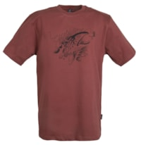 Guideline Angry Trout ECO Tee - Brick