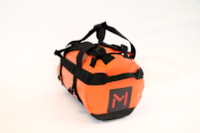 Lars Monsen Karasjohka  Duffle Bag Orange/Black 80L