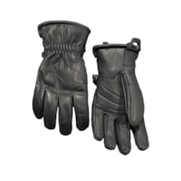 Lars Monsen Alta Leather Gloves - Black