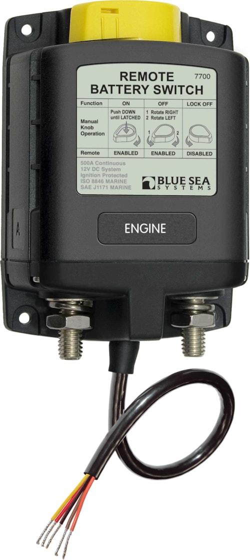 ML-serie batteribryter/Rèle 12 V - manuell styring
