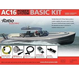 Landstrømsystem - AC16 BASIC KIT