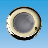 Spot - Messingforkrommet M/Bryter