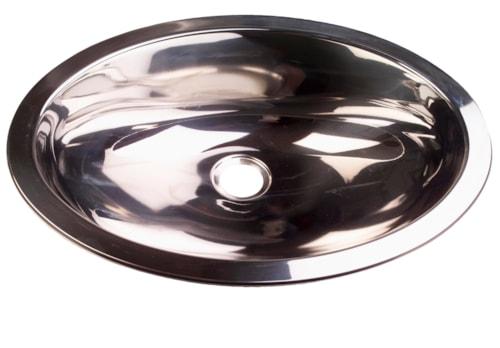 Håndvask oval 39 x 51 cm