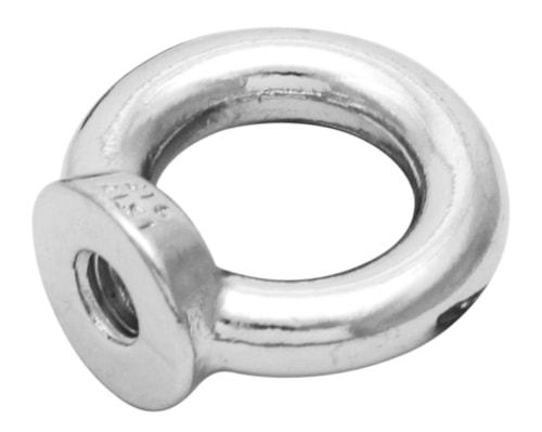Øyemutter AISI 316, 6 mm