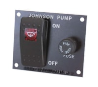 Johnson Pump Bryterpanel - Lensepumper